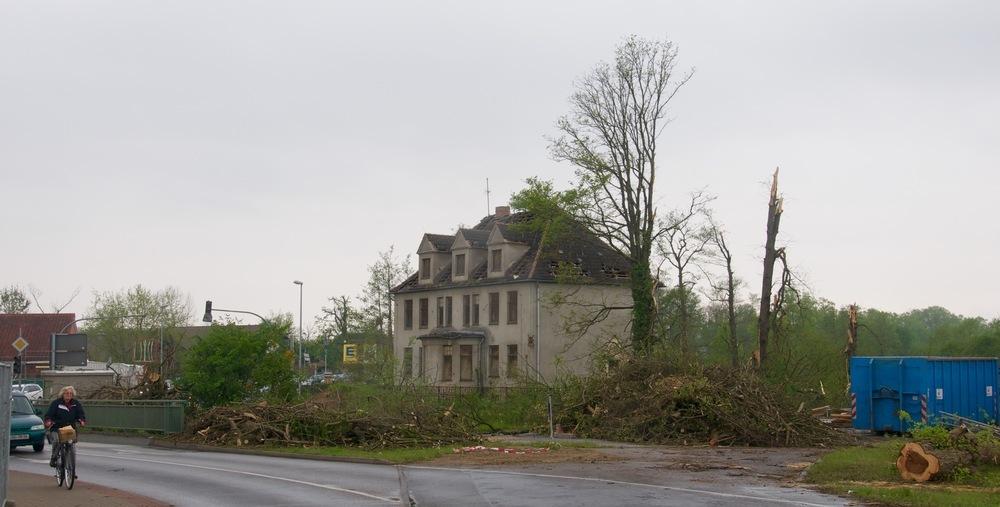 Bützow nach dem Tornado Teil 1