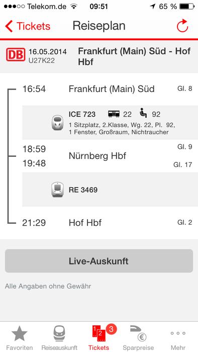 Zug-Plan